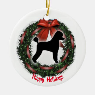 Poodle Christmas  Ornamebt Christmas Ornament
