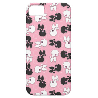 Poodle Cuties on Pink - Customize iPhone 5 Cover