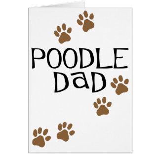 Poodle Dad Card