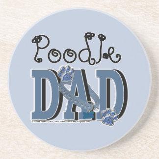 Poodle DAD Coaster