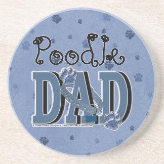 Poodle DAD Drink Coasters