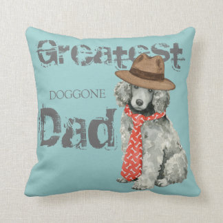 Poodle Dad Cushion