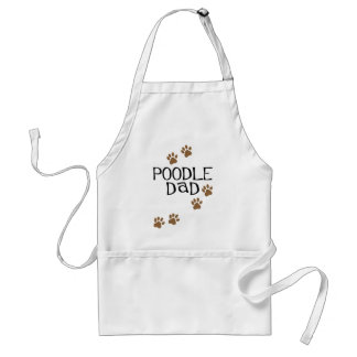 Poodle Dad Standard Apron