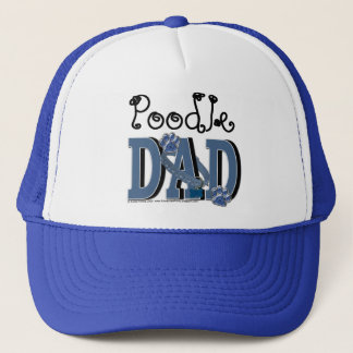 Poodle DAD Trucker Hat