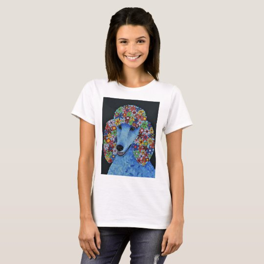 Poodle Dog - Abstract Art Designed T-Shirt