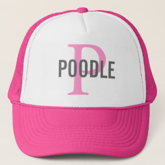 Poodle Dog Breed Trucker Hat/Cap Trucker Hat