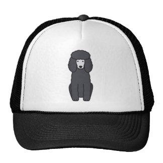 Poodle Dog Cartoon Cap