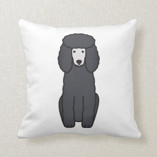 Poodle Dog Cartoon Cushion