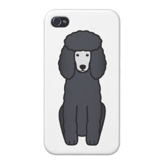 Poodle Dog Cartoon iPhone 4/4S Case