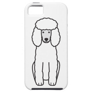 Poodle Dog Cartoon iPhone 5 Cases