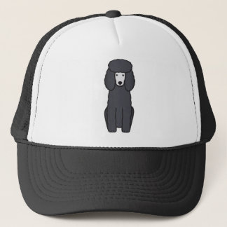 Poodle Dog Cartoon Trucker Hat