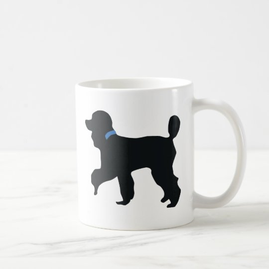 poodle dog coffee mug