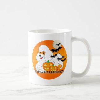 Poodle Dog Halloween Mugs