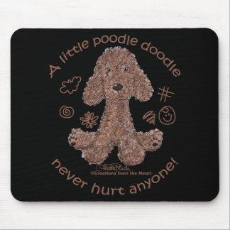 Poodle Doodle Mousepad