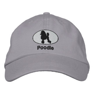 Poodle Embroidered Hat