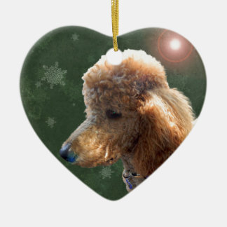 POODLE FOR THE HOLIDAYS CHRISTMAS ORNAMENT