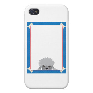Poodle Frame Case For iPhone 4