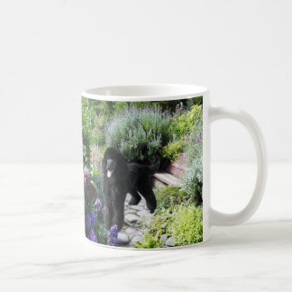 Poodle Garden Mug