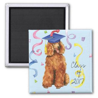 Poodle Graduate Magnet