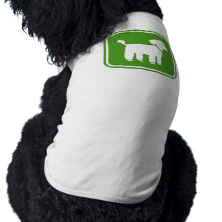 Poodle Graphic (Green) Shirt