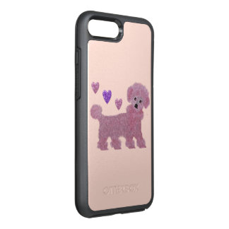 Poodle Hearts OtterBox Symmetry iPhone 8 Plus/7 Plus Case