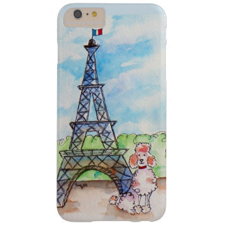 Poodle in Paris Barely There iPhone 6 Plus Case