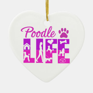 Poodle Life Ornament