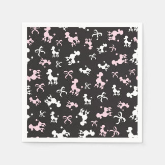 Poodle Love Paper Napkins