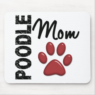 Poodle Mom 2 Mouse Mat