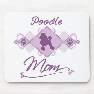 Poodle Mom Mouse Pad