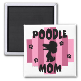 Poodle Mum Magnet