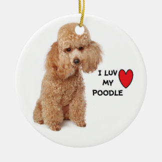 Poodle Ornaments