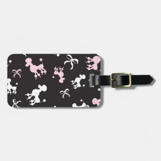 Poodle Passion Luggage Tag