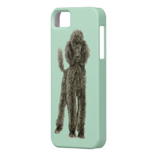 Poodle phone case