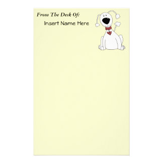 Poodle Power Stationery Paper