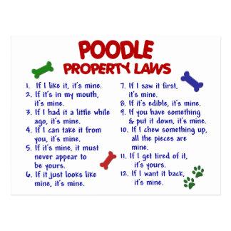 POODLE Property Laws 2 Postcard
