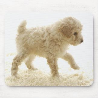 Poodle Puppy Mouse Mat