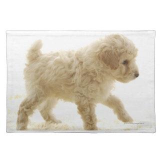 Poodle Puppy Placemat