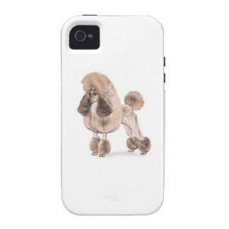 Poodle -- Show Coat iPhone 4/4S Covers