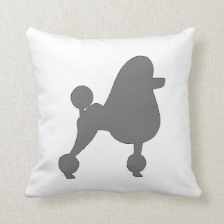 poodle silo gray cushion