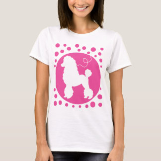 Poodle Skirt Shirt with Polka Dots