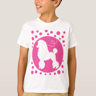 Poodle Skirt Shirt with Polka Dots