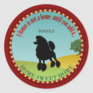 Poodle Stickers
