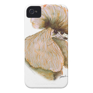 Poodle, tony fernandes iPhone 4 Case-Mate cases