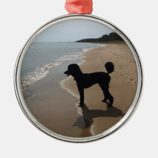 Poodle up North Christmas Ornament