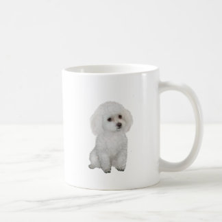 Poodle - white 1 coffee mug