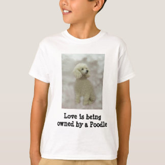 Poodles Are Heavenly Kids Shirt
