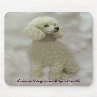 Poodles Are Heavenly Mousepad
