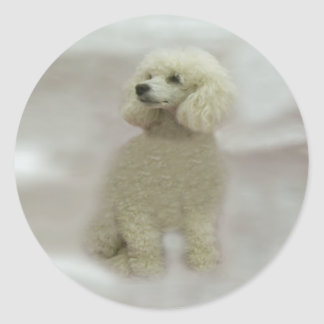 Poodles Are Heavenly Sticker