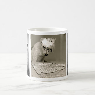Poodles are Hip, Smart & Chic! Basic White Mug
